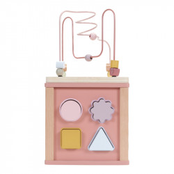 Cube en bois jouet enfant Little Dutch-detail