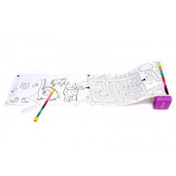 mètre de coloriage pour enfants de chez OMY-detail