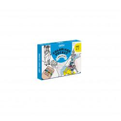 Kit de coloriage Mini Atlas de OMY-detail