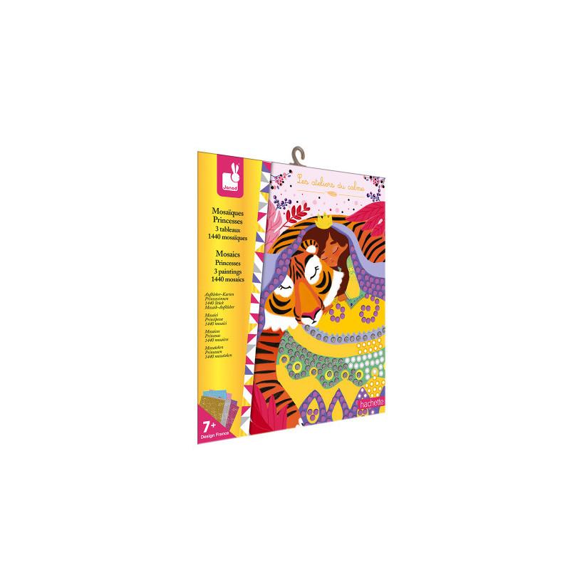 Kit créatif mosaiques princesses