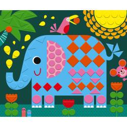 Kit créatif mosaiques animaux Janod-detail