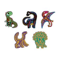 Set créatif scratch dinosaures-detail