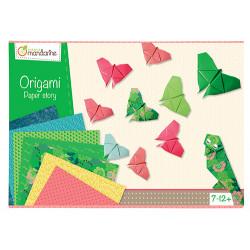 Boite créative origami avenue mandarine-detail