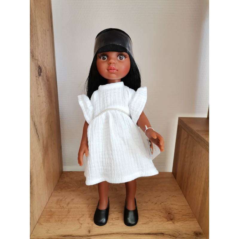 Poupée Nora et robe Daisy Minikane
