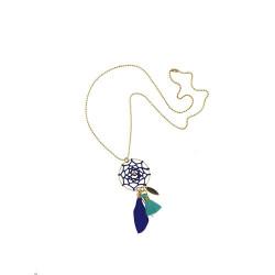 Coffret avec un bracelet, un collier et une paire de boucles d'oreilles-detail