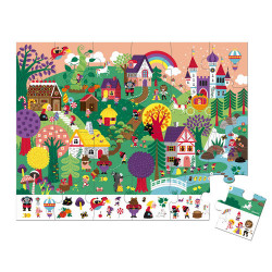 Puzzle 24 pièces, fabriqué en France-detail